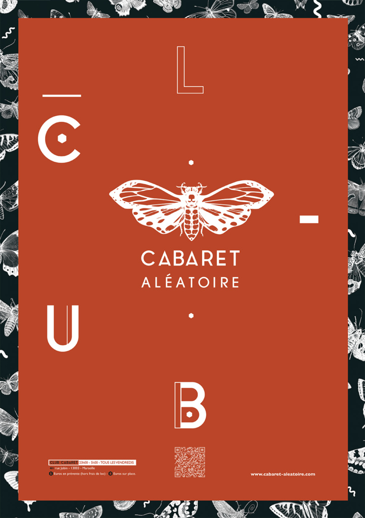 affiche générique club cabaret