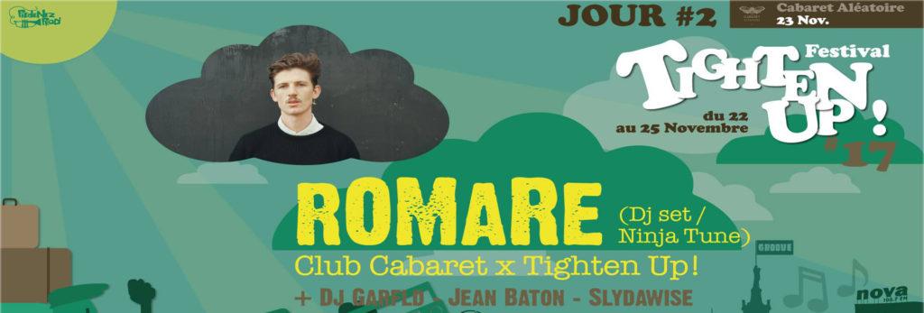 romare tighten'up festival club cabaret