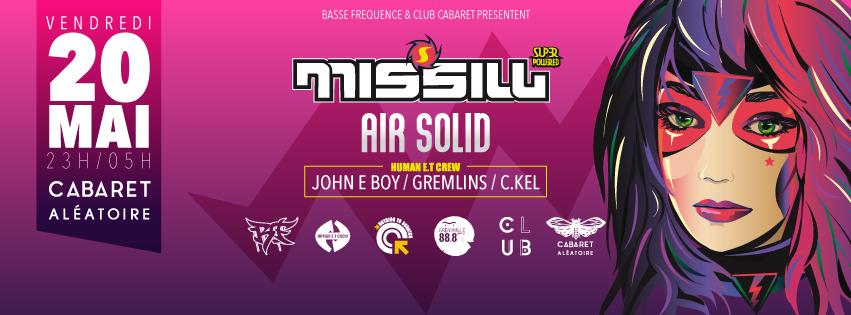 Missill sur Cave Carli Radio – Before Club Cabaret x Human E.T Crew 20.05.16