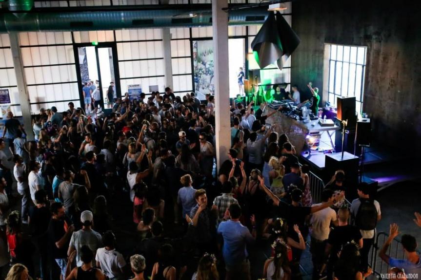 [Vidéo + Photos] The Warehouse w/ Marek Hemmann, Steroclip & More