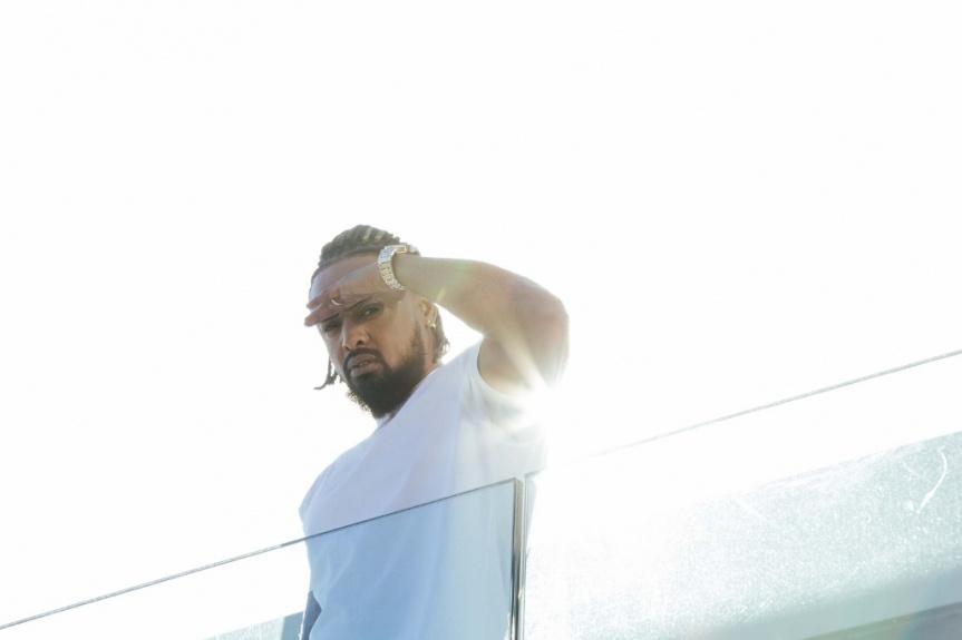 La préparation d'Alonzo pour son show au Dôme de Marseille