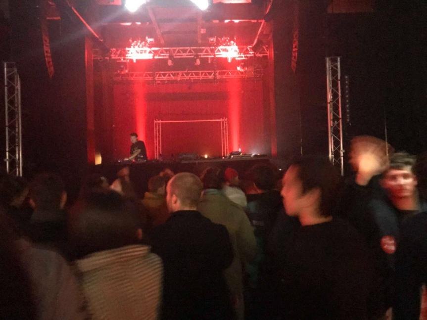 Report : La nuit éprouvée : Antoine d'Agata (White Noise) / mic&rob + Shlagga & Israfil