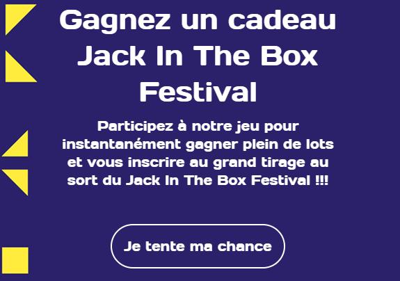 Jack in the box : Grand jeu «Jack in The Pot»